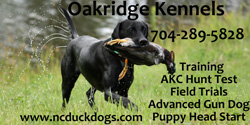 Oak ridge kennel
